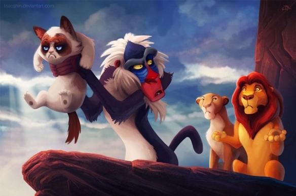 le roi lion parodie